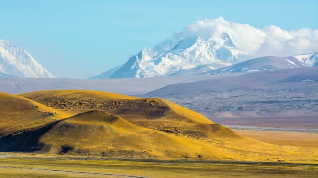 mt. everest, himalayas - tibetan plateau stock videos & royalty-free footage