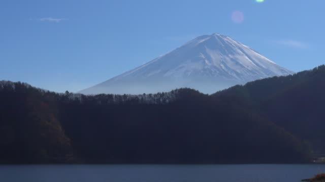 河口湖からの富士山 - 山梨県点の映像素材/bロール