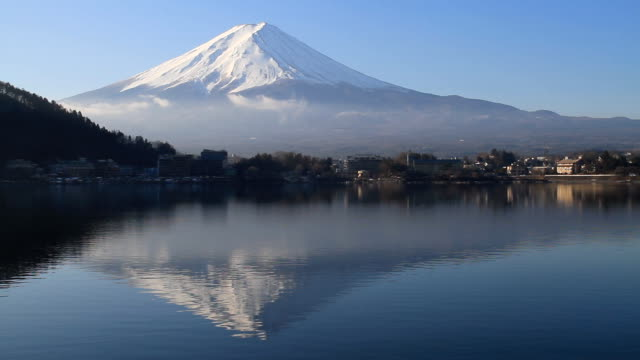 Mt Fuji in Japan - Stock Video