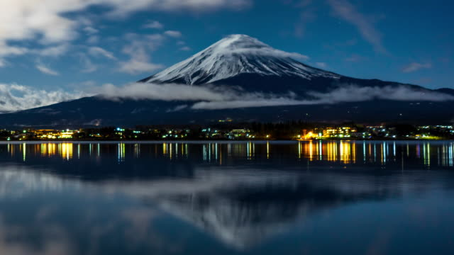 mt. fuji in japan - unesco world heritage site stock videos & royalty-free footage