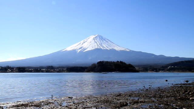 mt fuji in sunny day - 2013 stock videos and b-roll footage