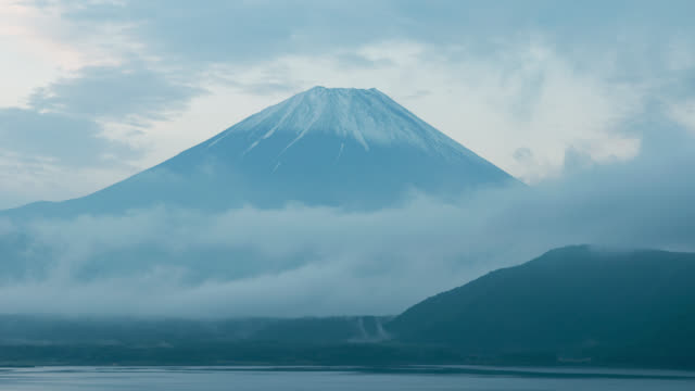 Mt. Fuji over Lake Motosu