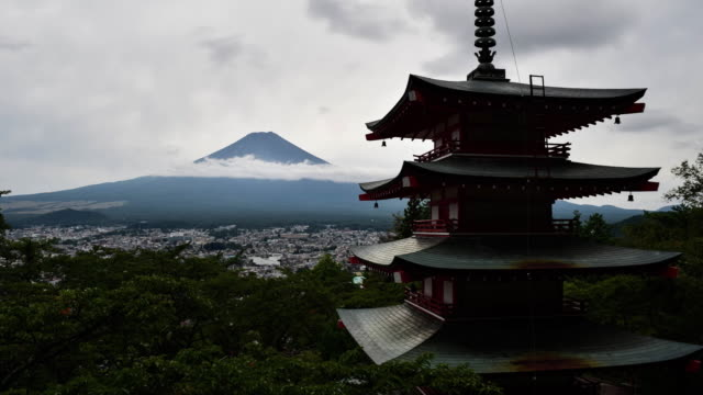 Mt. Fuji over the Chureito Pagoda
