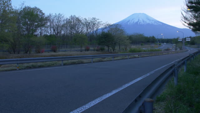 Mt. Fuji over the Highways