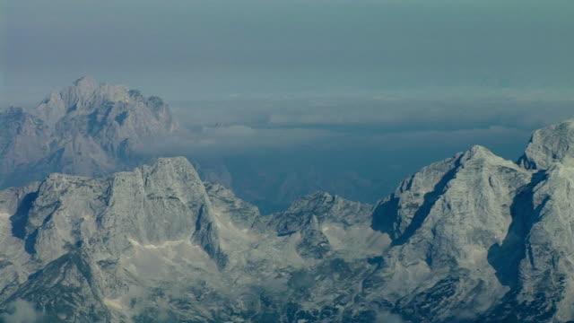 ms, ha, pan,  mt jalovec and mt mangart, triglav national park, gorenjska, slovenia - triglav national park stock videos and b-roll footage