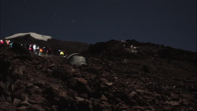 mt. kilimanjaro - 自然奇觀 個影片檔及 b 捲影像