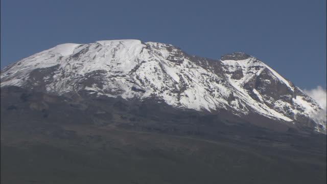 mt. kilimanjaro - mt kilimanjaro stock videos & royalty-free footage