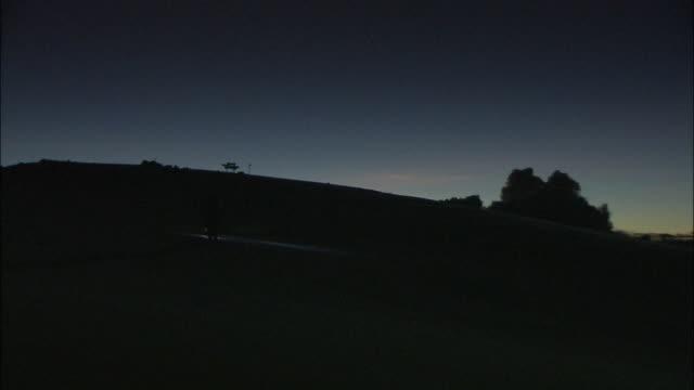 mt. kilimanjaro - midnight stock videos and b-roll footage