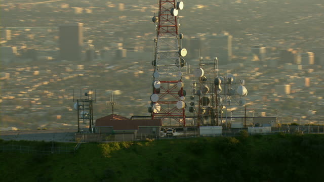 Mt Lee Radio Tower In Los Angeles CA