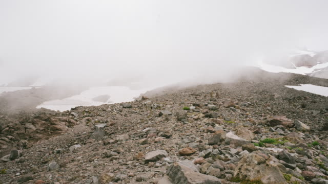 mt rainier climb, , travel and time-lapse through washington - mt rainier stock videos & royalty-free footage
