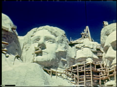 mt. rushmore national memorial - 6 of 9 - mt rushmore national monument stock videos and b-roll footage