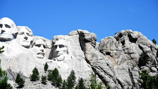 mt rushmore national monument - mt rushmore national monument stock videos & royalty-free footage