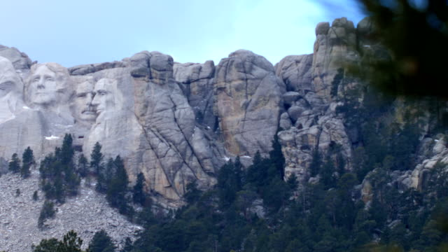 mt rushmore, south dakota - mt rushmore national monument stock videos and b-roll footage