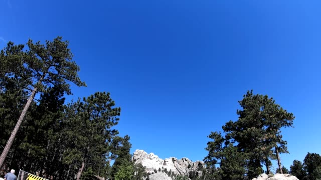 mt rushmore view - mt rushmore national monument stock videos & royalty-free footage