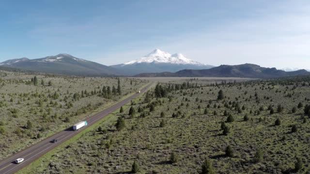 MT. Shasta antenn Highway