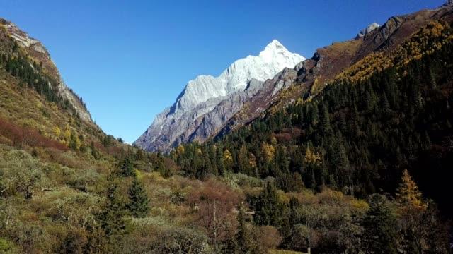 Mt. Siguniang (inside Changping Valley), Siguniangshan National Park, Sichuan Province, China