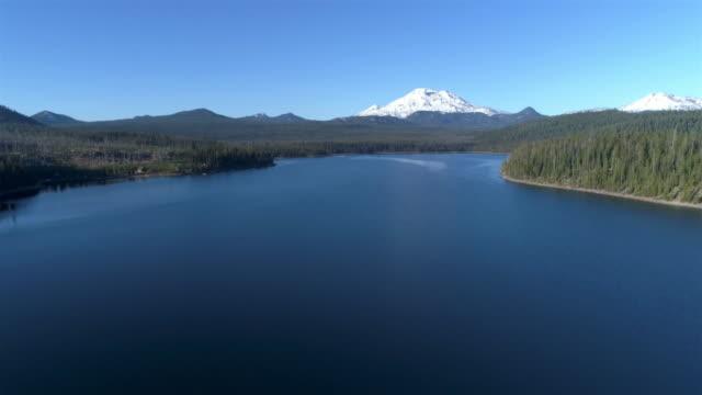 マウント サウス シスター (オレゴン州) - オレゴン州クレーター湖点の映像素材/bロール