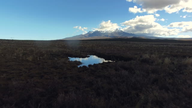 mt tongariro, new zealand. - tongariro national park stock videos & royalty-free footage
