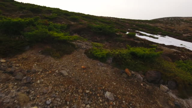 mt. zao drone footage - satoyama scenery stock videos & royalty-free footage