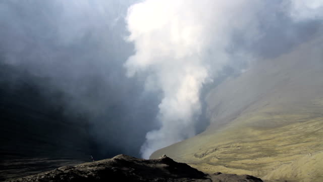 mt.bromo crater - tengger stock videos & royalty-free footage