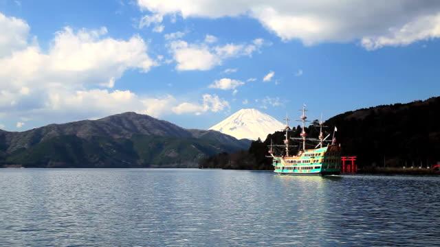 Mt.Fuji and Lake Ashi