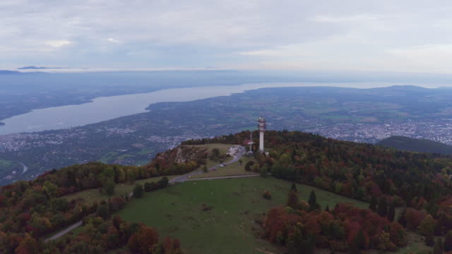 Mt.Salève around Geneva in autumn