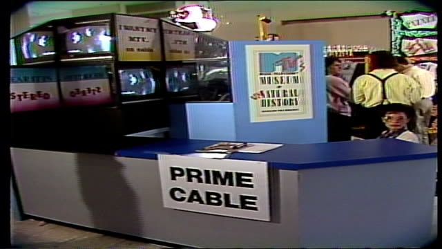 MTVs UnNatural History Sign and Prime Cable Sign