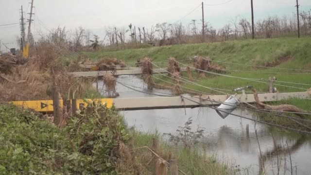 Much of Puerto Rico remains without power fresh water or communications links long after the catastrophic passage of Hurricane Maria reports are...