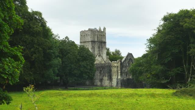 T/L Muckross Abbey In Killarney National Park