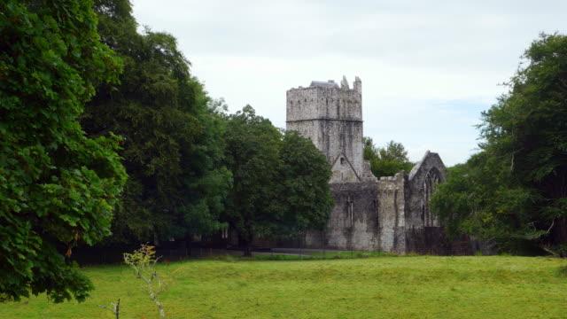 Muckross Abbey In Killarney National Park