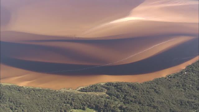 mud banks and sediments in estuary, tasmania - estuary stock videos & royalty-free footage