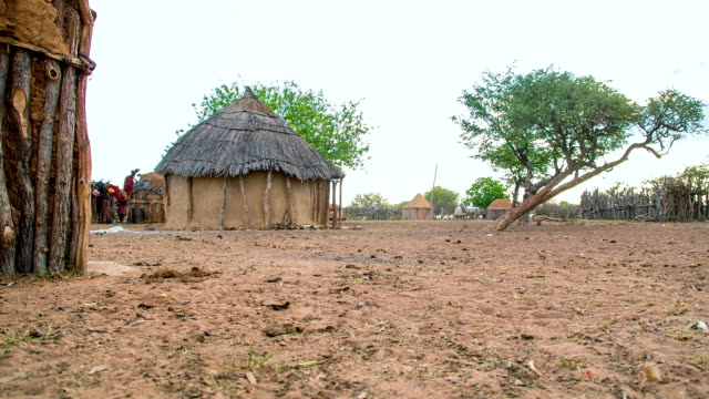 WS DS Mud Huts In The Himba Village
