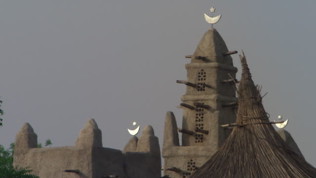 mud mosque in africa - adobe stock videos & royalty-free footage