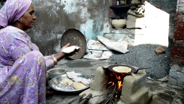 mud stove - indian food stock videos & royalty-free footage