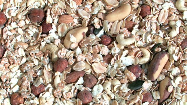 Muesli with nuts, cereal