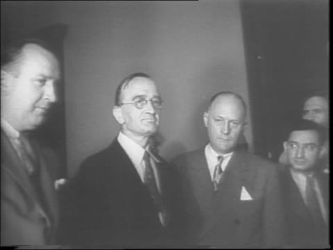 mug shot of german spy erwin harry de spretter and ernest frederick lehmitz who plead guilty to sending information on axis / lehmitz outside of... - mug shot stock videos & royalty-free footage