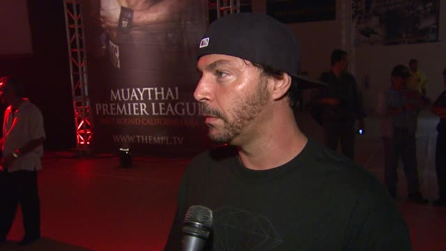 muggs on attending muaythai premier league's opening night on what he knows about muay thai on what he expects form tonight's fights on his labor day... - muay thai stock videos and b-roll footage