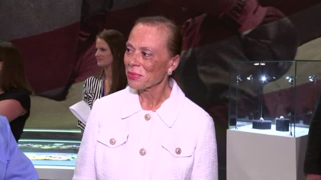 lonnie ali and david haye attend opening lonnie ali chatting and interview sot includes comments on david haye campaigning for muhammad ali to... - david haye stock videos and b-roll footage