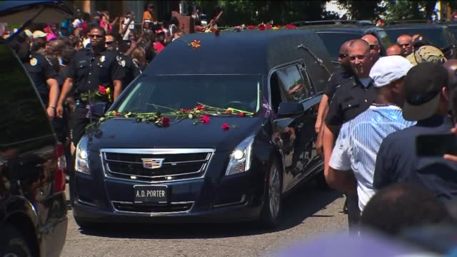 wpix muhammad ali funeral procession in louisville kentucky on june 10 2016 - death stock videos & royalty-free footage
