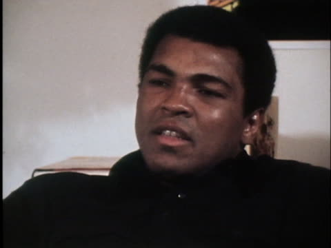 stockvideo's en b-roll-footage met muhammad ali talks about a personal mission in life, to help other people; he says that without that, there is no sense in living. - sport