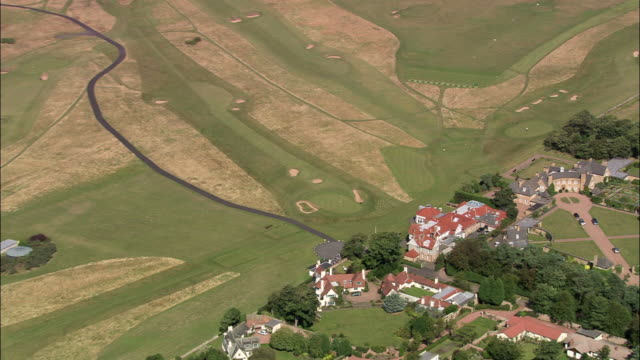 muirfield golf courses - golf links stock videos & royalty-free footage