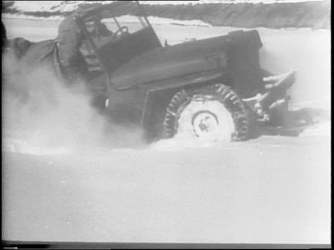 mules and jeeps are loaded with supplies and race to the top of a distant mountain / at first the speedy jeeps take the lead but that changes when... - extreme terrain stock videos & royalty-free footage