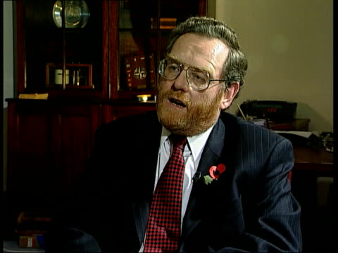 Chinook crash ITN ENGLAND London Ministry of Defence John Spellar MP interview SOT Talks of Chinook pilots flouting safety rules / No grounds for...