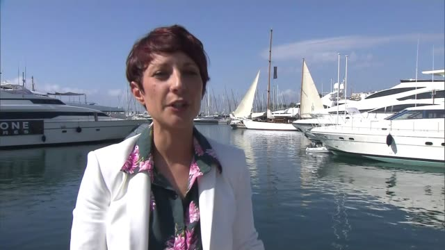 mulligan says film and television are loathe to display women's faults france cannes ext reporter to camera sot - 71st international cannes film festival stock videos & royalty-free footage