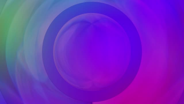 Multi colored circle shape abstract background