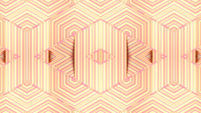 multi colored hypnotic background. kaleidoscopic vj motion striped design. abstract line art. digital seamless loop animation. 3d render hd - optical illusion stock videos & royalty-free footage