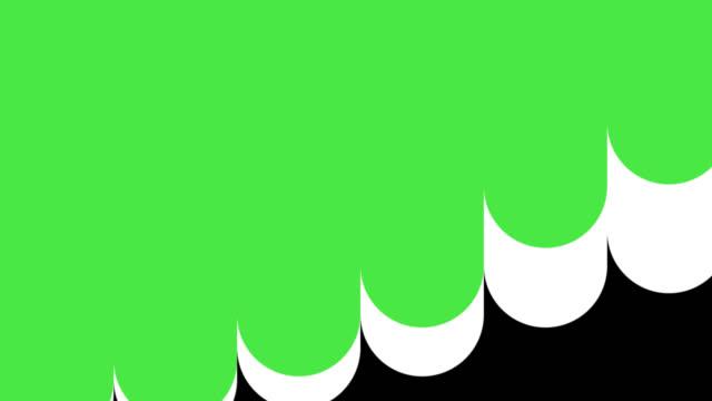 multi colored liquid style transition animation mit alpha channel (apple prores alpha) - sehvermögen stock-videos und b-roll-filmmaterial