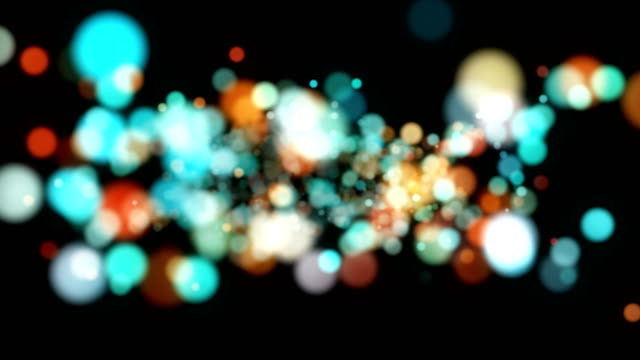 multi colored particle backgrounds - spectrum stock videos and b-roll footage