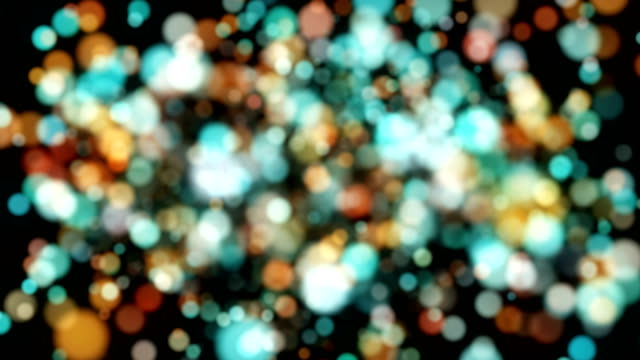 Multi Colored Particle Backgrounds