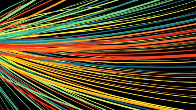 multi colored particle backgrounds - immagine a colori video stock e b–roll